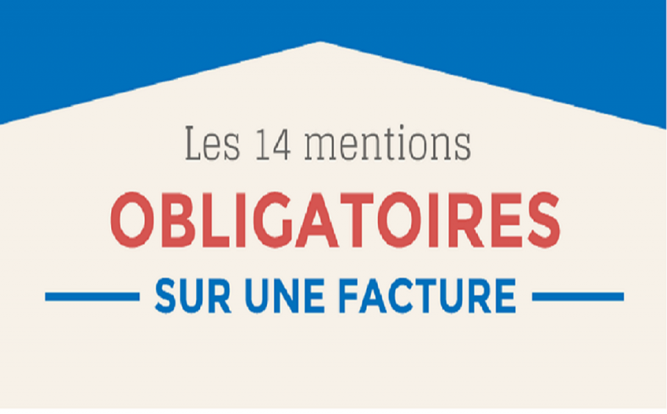 Mentions obligatoires factures